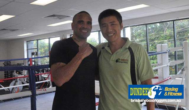 boxing classes Brisbane - floyed maywether pacquiao