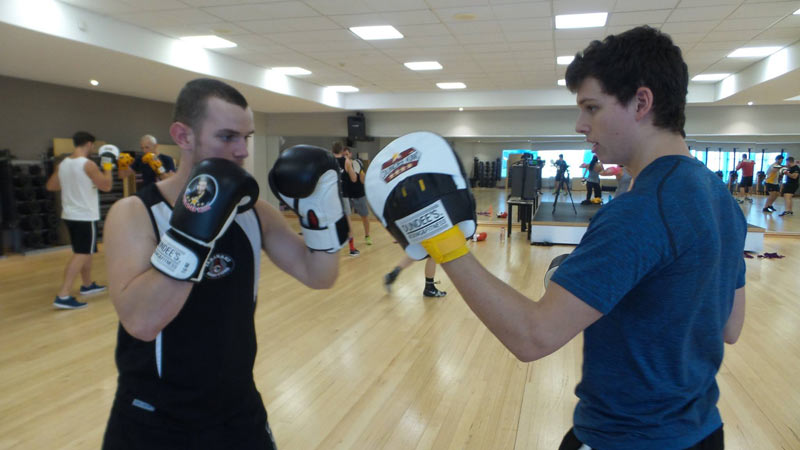 boxing classes brisbane-fitness first carindale 2