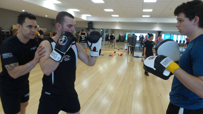 boxing classes brisbane-fitness first carindale 3
