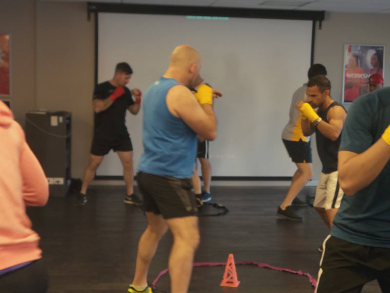 boxing classes brisbane-fitness first carindale 5
