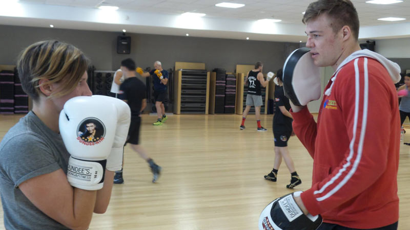 boxing classes brisbane-fitness first carindale 7