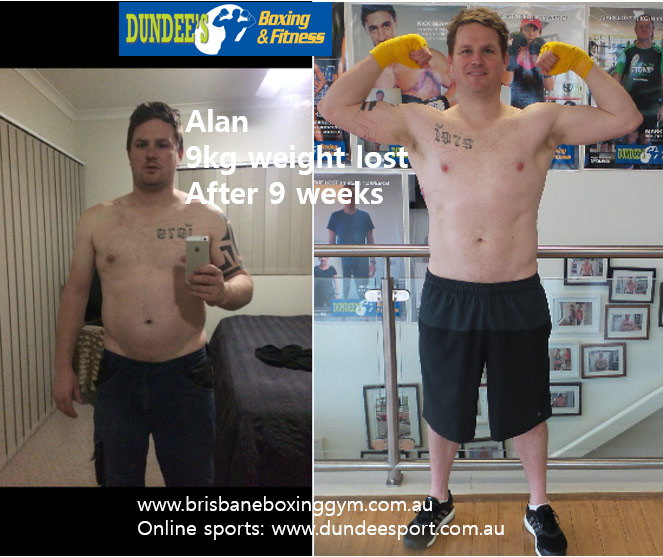 weight loss personal trainer brisbane - alan