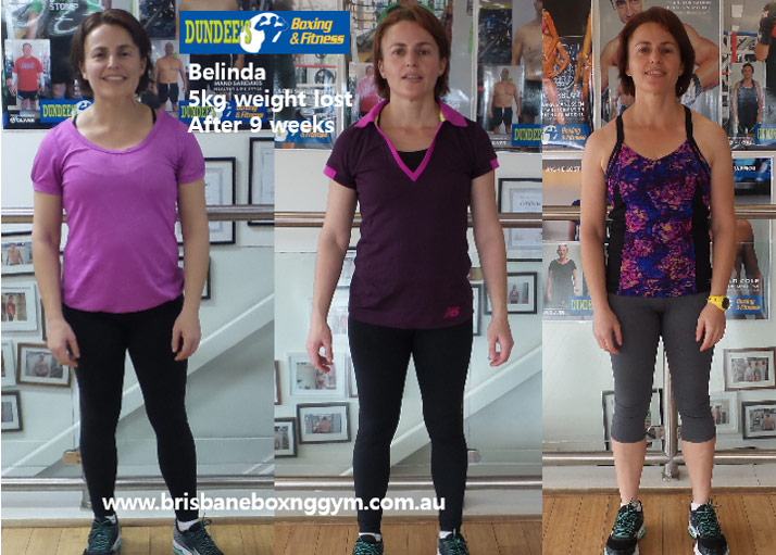 weight loss personal trainer brisbane - belinda 2