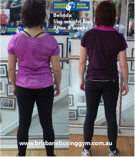 weight loss personal trainer brisbane - belinda 3