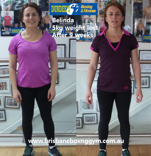 weight loss personal trainer brisbane - belinda 4