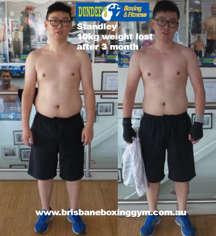 weight loss personal trainer brisbane - stanley