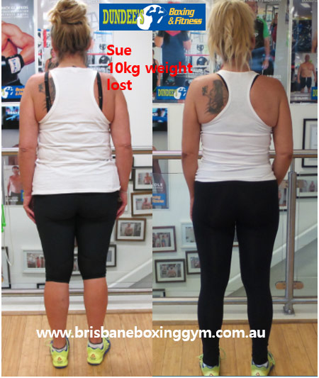 weight loss personal trainer brisbane - sue 2