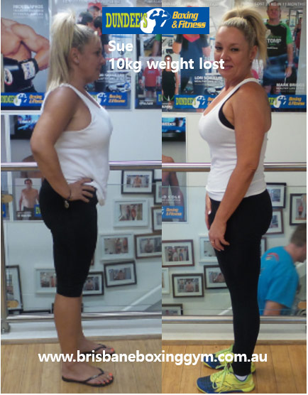 weight loss personal trainer brisbane - sue 3