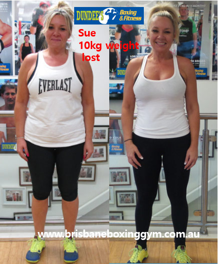 weight loss personal trainer brisbane - sue