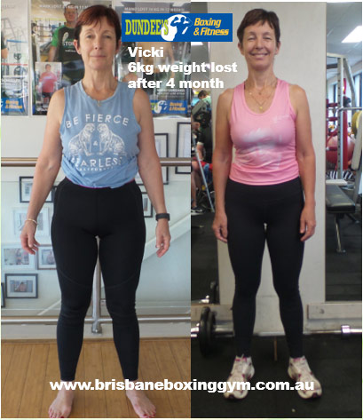 weight loss personal trainer brisbane - vicki