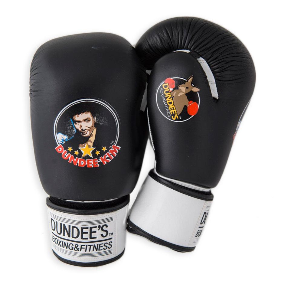 Black leather gloves brisbane - Boxing Gloves Black