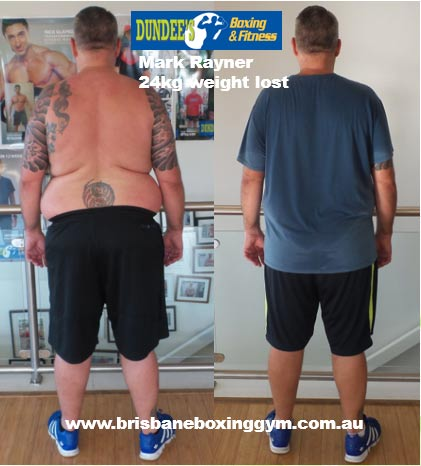 gym weight loss success story - mark 1