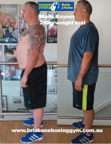 gym weight loss success story - mark 3