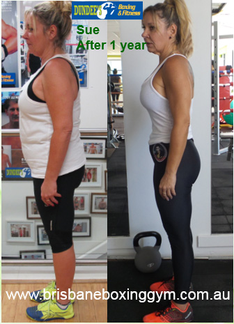 gym weight loss success - sue 2