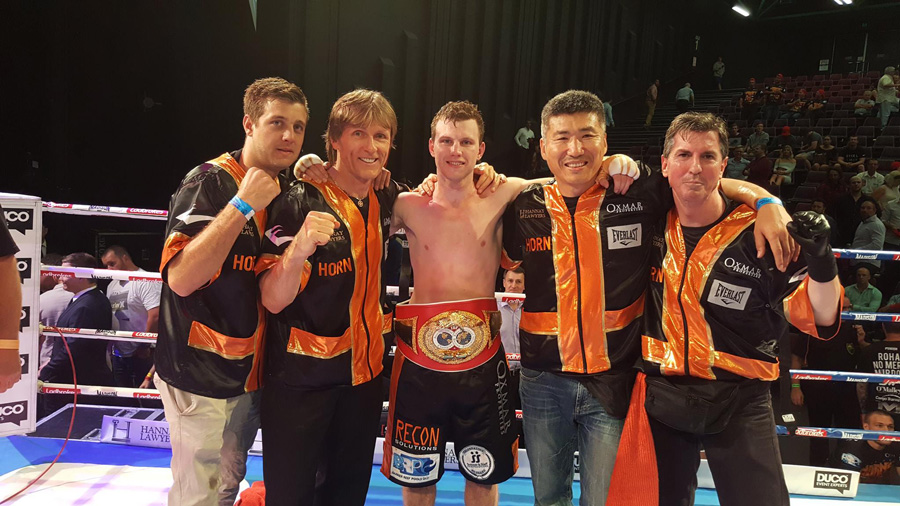 jeff horn dundee victory in ring