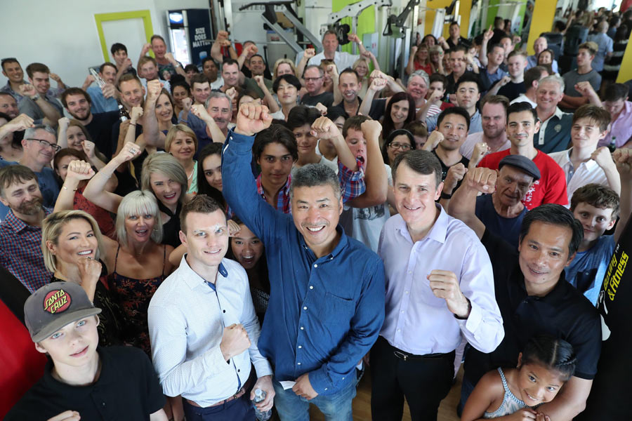 graham quirk dundee gym