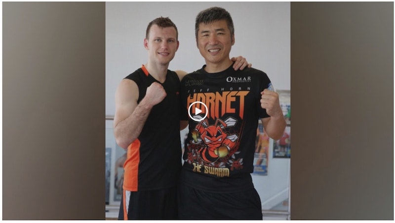 Jeff Horn Korean news