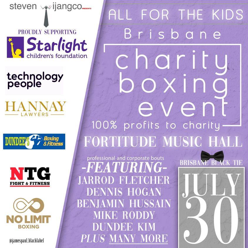 dundee jarrod fletcher charity fight starlight childrens foundation